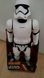 Star Wars 18 inch First Order Stormtrooper With Blaster