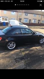 60 plate BMW 1-Series coupe automatic m sport