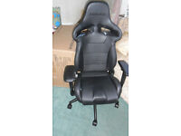 Vertagear gaming chair with multiple adjustments, suitable for office, brand new & unused