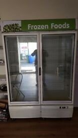 shop freezer display