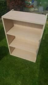 Bookshelf (hanging or freestand)
