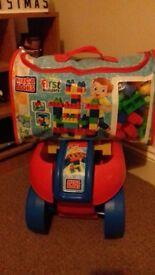 Mega Bloks and Trolley