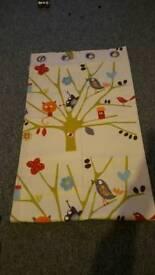 "beautiful nursery curtains filly lined 49"" width each curtain 82"" drop each curtain"
