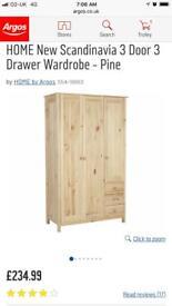 Scandinavia triple wardrobe