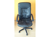 Ikea black office chair for sale