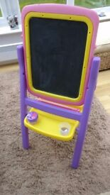 Childs Easel - Qwikflip 2 Sided 4 in 1 Easel