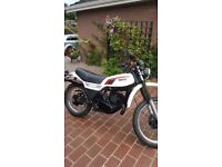 Rare yamaha dt 250 completely restored by bike enthusiast