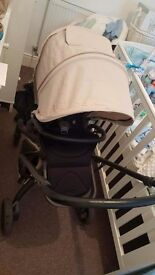 Beautiful mamas and papas mylo travel system in sandcastle