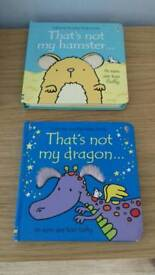 Two Usborne That's not my books