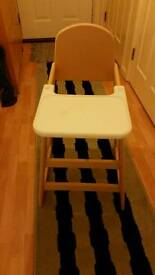 GOOD CONDITION HIGH CHAIR