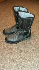 Frank Thomas motor bike boots size 9