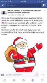 Christmas decorations, gifts for everyone