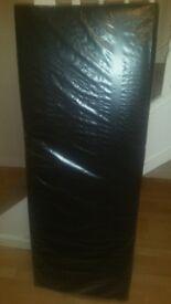 Double black leather look headboard *brand new*