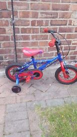 Boys Huffy Bike age 3 with stablisers