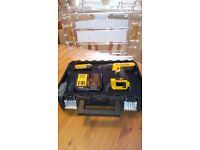 Dewalt DCD776M1T 18v XR 4.0 LITHUIM ION A. H Cordless drill T Stack, AS NEW,see photos & details