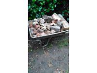 Free broken bricks and concrete