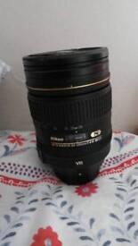 Nikon 24-120mm f/4 VR FX G ED AF-S
