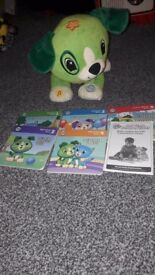 Read with me Scout with all 5 books and instructions