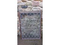 Antique Lead Design Window