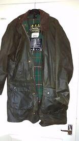 Barbour Northumbria coat.