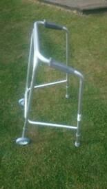 Zimmer frame, commode, trolley seat raiser