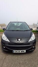 Peugeot 207 1.4 HDi S 5dr (Black)