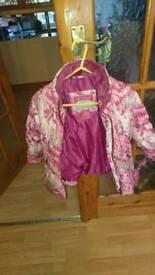 Girls coat. Ages 3-4