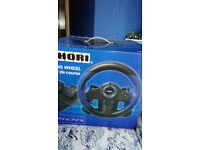 Hori ps4 steering wheel still in box