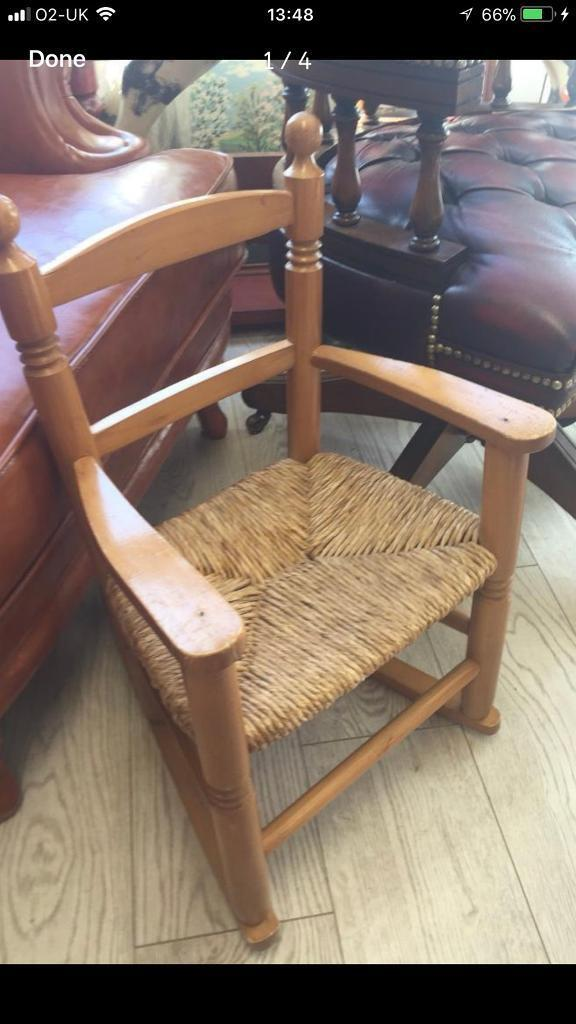 Child's rocking chair only £8