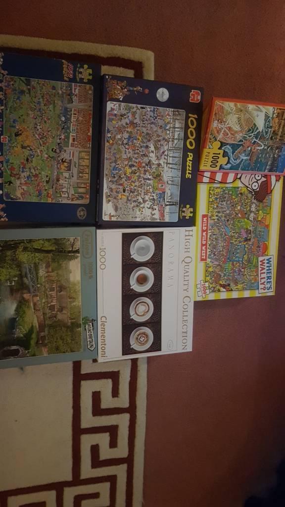 6 jigsaw puzzles