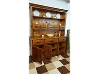 Barker and Stonehouse solid plantation wood kitchen dresser