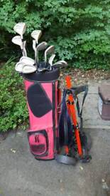 Full Set of Golf Clubs - Fazer Contender II