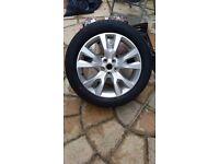 Vauxhall Antara Alloy Wheel & Tyre