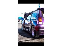Renault 5 gt turbo wide arch