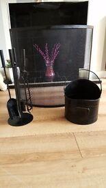 Log burner set