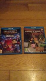 Minecraft and Minecraft Complete Adventure Story Mode for Wii U