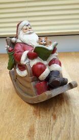 Musical Santa Ornament