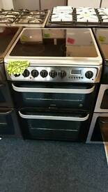 HOTPOINT 60CM ELECTRIC DOUBLEOVEN COOKER