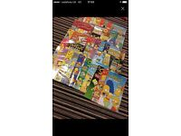 Massive collection of comics (simpsons, futurama and art magic)