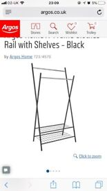Argos two tier clothes rail