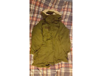 "US M65 Extreme Cold Weather Parka w. Sythetic Hood, Small, ""Supergrade"" Condition"