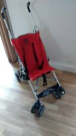 Lightweight holiday stroller buggy pushchair chicco