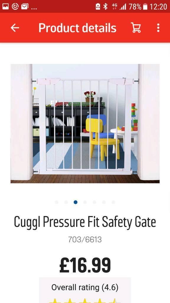 Baby stair gates