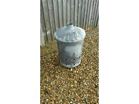 Galvanised Garden Incinerator