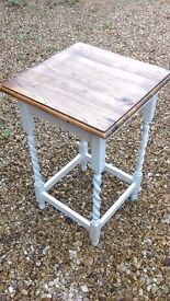 Table side table