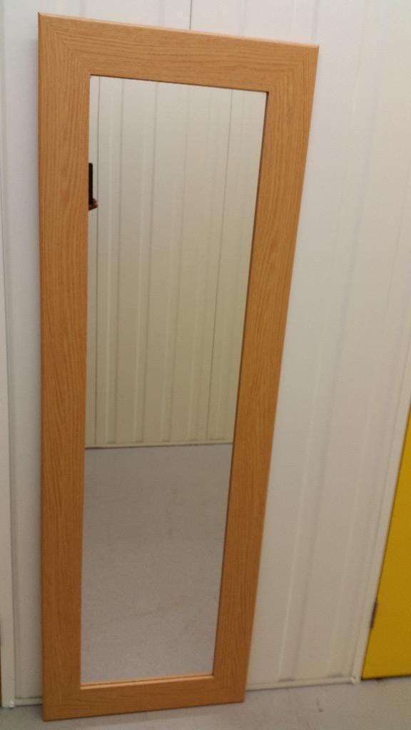 Pine Effect Frame Full Length Wall Mirror In Edinburgh