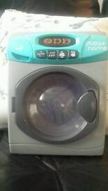 Childrens toy washing machine