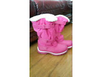 Lands End - Girls Winter/ Snow Boots - Used