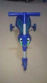 Blue Scuttlebug scooter