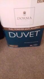 Brand new king size duvet